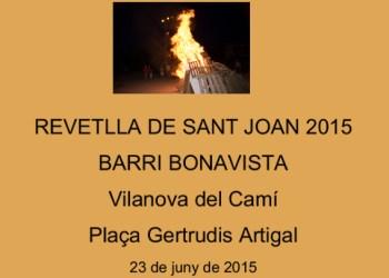 Revetlla Sant Joan 2015 cartell V02