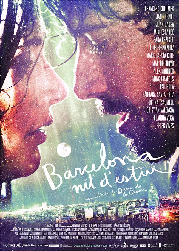 Barcelona nits estiu cartell