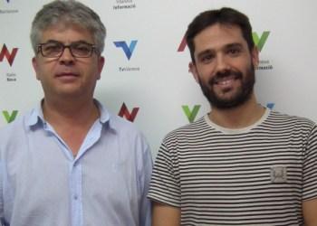 Toni Maturana i Toni Tebas Comissio organitzadora 50 aniversari CF Vilanova V02