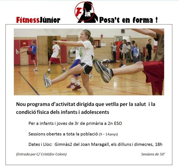 Activitat fisica per a adolescents oct15