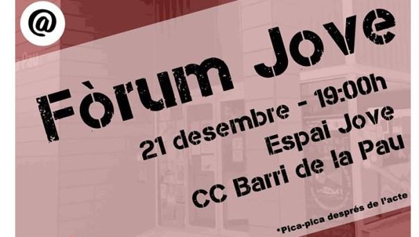 Forum Jove 2015 cartell V02