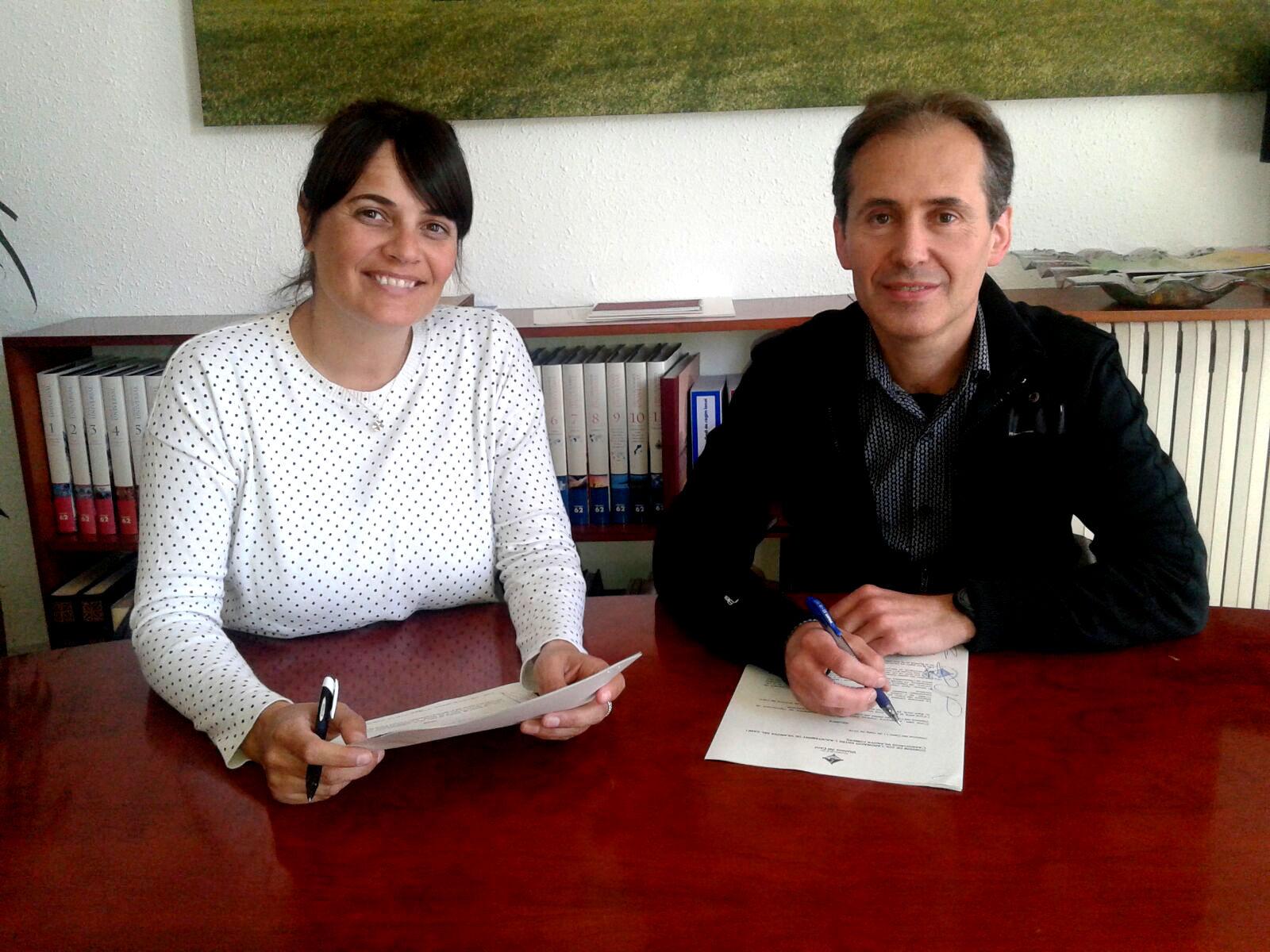 Vilanova Comerc signatura conveni 2