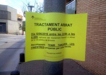 Tractament fitosanitari cartell 6 juny 16