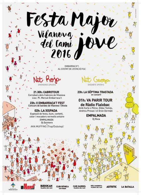 cartell festa major jove 2016