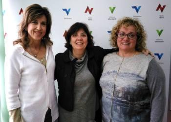 Associació Asia. Laura Soler, Angels Roca i la Dr Aurora Garriga (4)