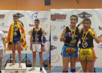 Muay Thai Campions Furio Jol mai17