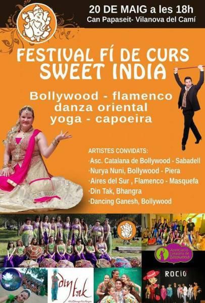Sweet India fi de curs 2017 cartell