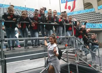 Huesitos grup infantil de competicio de hip hop de vilanova del cami (2)