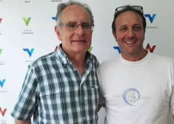 Joan Romero i Josep Minguet Calcinaia visita agermanament jun17