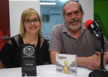 Lourdes Senserrich i Toni Balsells 1er festival galactic de canco de autor i poesia (1)