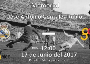 Penya Madridista cartell partit homenatge a Jose Antonio Gonzalez