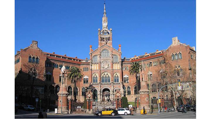 Hospital de Santa Creu i Sant Pau, Barcelona Photograph Luidger (25. Dezember 2006-v2