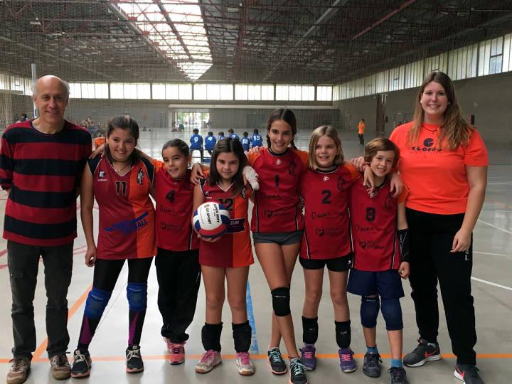 Volei Igualada alevines nov 2017-v2
