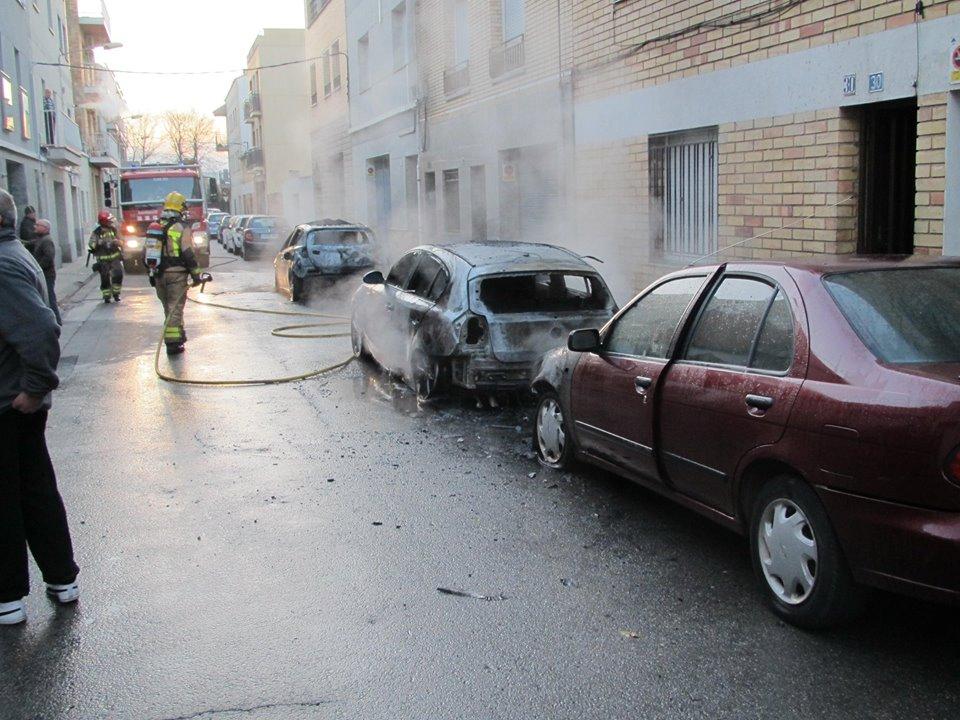 cotxes cremats f.viera