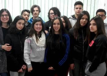 Institut Pla de les Moreres Optativa fent de periodistes feb18 5