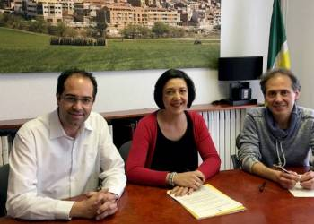 Conveni Vilanova Comerc 2018 signatura mar18-v22