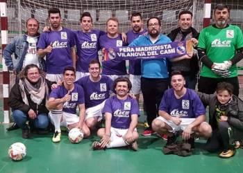 Peña Madridista Vilanova campionat futbol sala mar 2018-v11