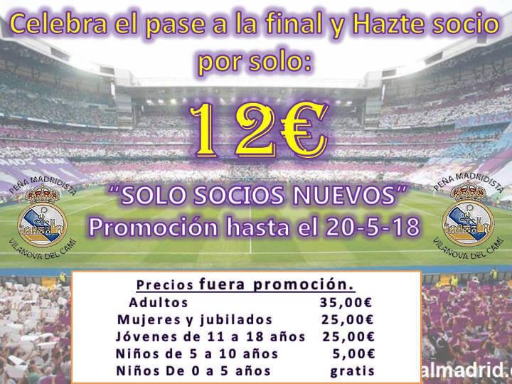 Peña Madridista cartell socis-720x540