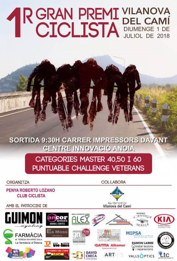 1 premi ciclista VdC jul2018-cartell-v11