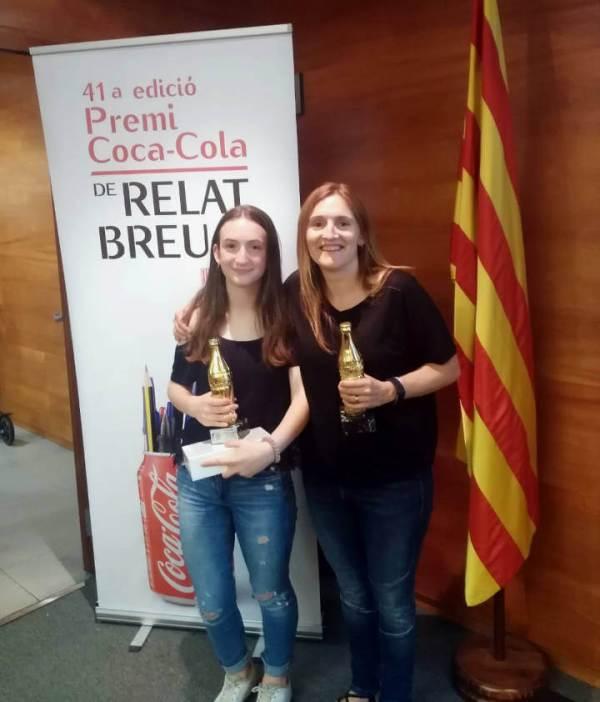 Lucia Maiorano 3a classificada absoluta premi Coca-Cola de relat breu (1)-V11