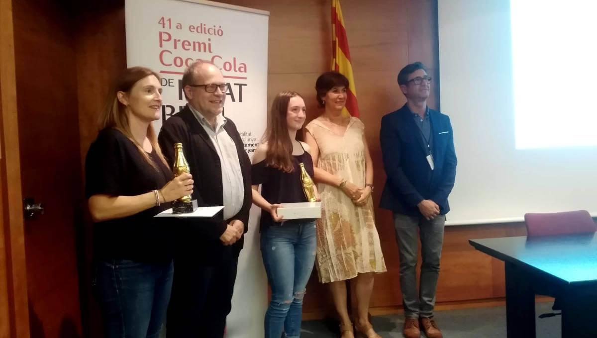 Lucía Maiorano guanya el tercer premi del concurs de relats de la Fundación Coca-Cola entre 4.000 alumnes de Catalunya