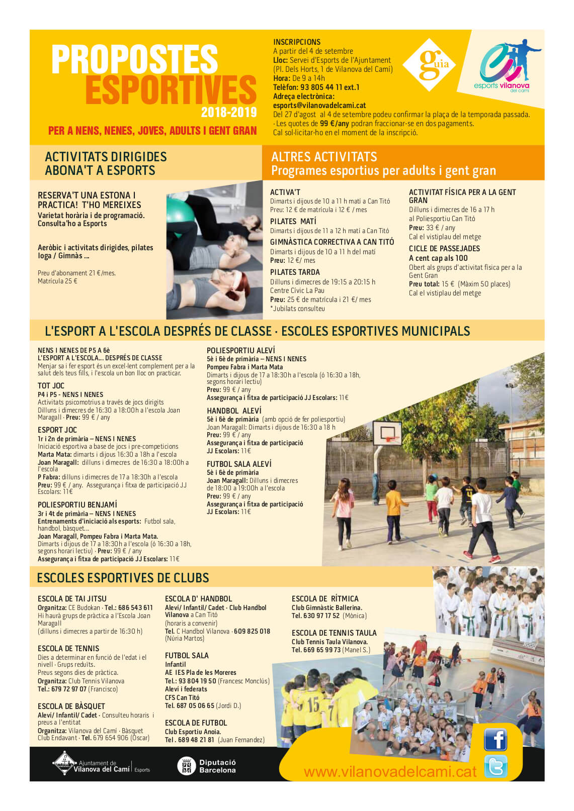 propostes esportives 2018_2019 2propostes esportives 2018_2019 2