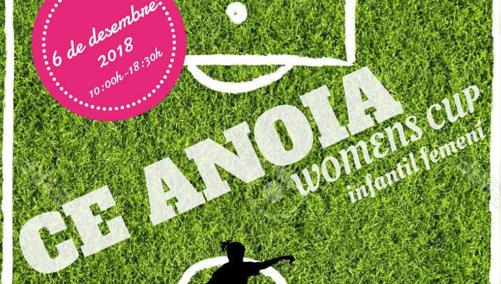 CE ANOIA Womens Cup 2018 cartell-imatge