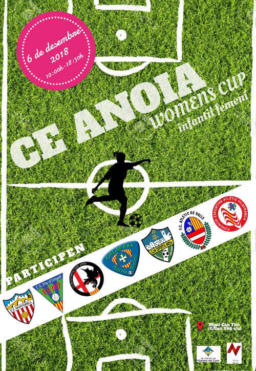 CE ANOIA Womens Cup 2018 cartell