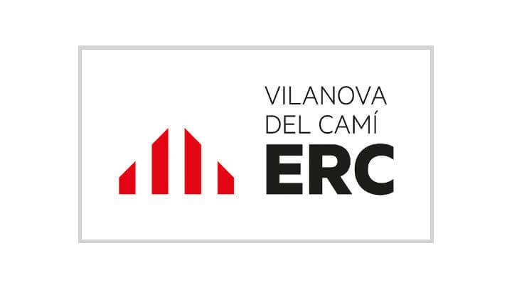 ERC Vilanova del Cami logo