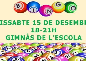 Bingo Nadal AMPA Joan Maragall