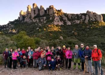 Colla a Montserrat des 2018-Foto-Colla-Excursionista-Vilanova-del-Cami-2