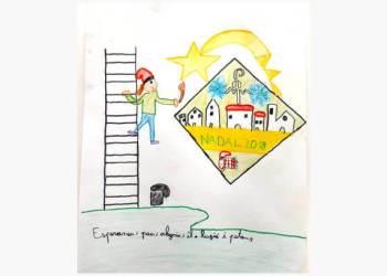 Dibuix guanyador concurs postal nadal 2018 mod-fons