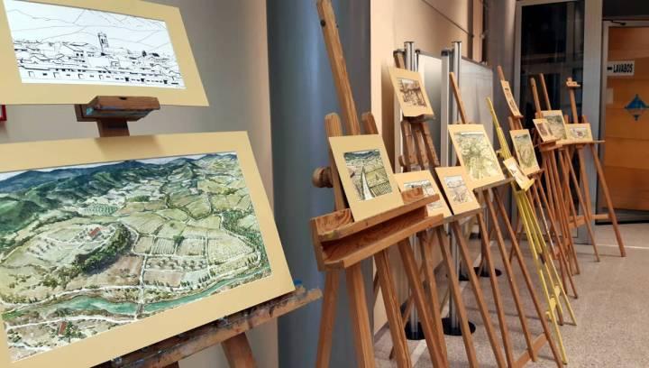 Exposicio Illustracions llibre Tracos un poble
