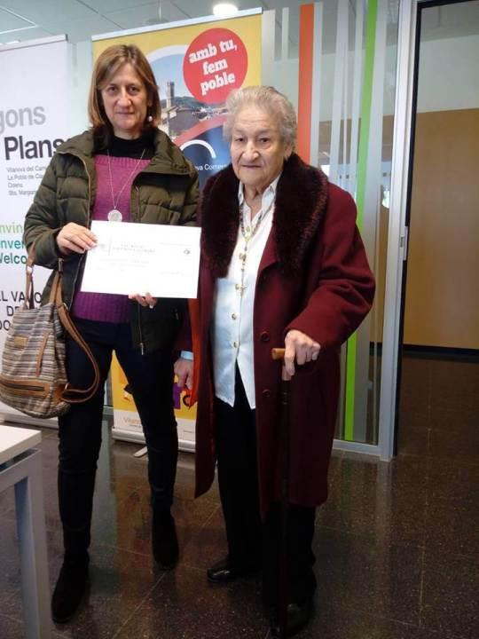 Montse Almendro guanyadora arbre regal 2019