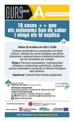 CURS 10 COSES ++