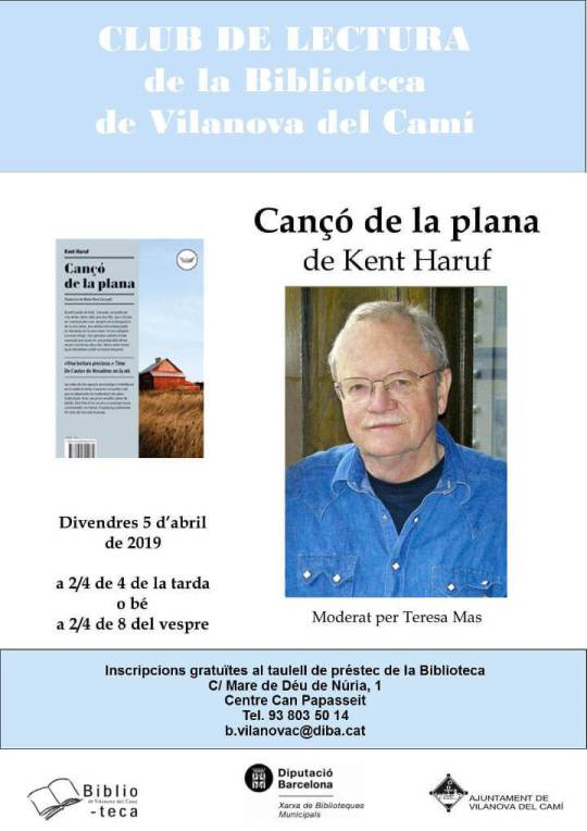 Canco de la plana cartell-Club de lectura-abr19