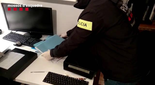 Mossos detencio concessionari (2) feb 2019