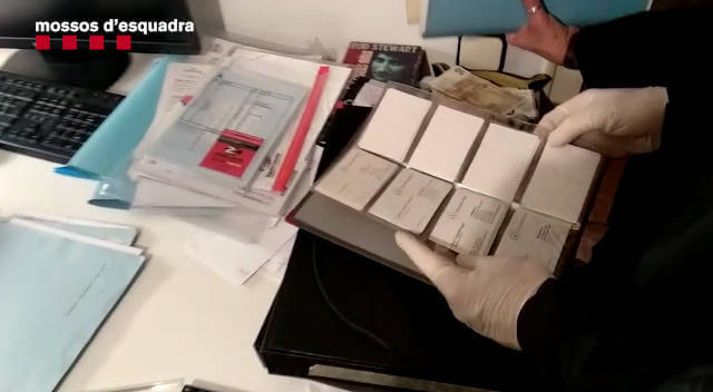 Mossos detencio concessionari feb 2019