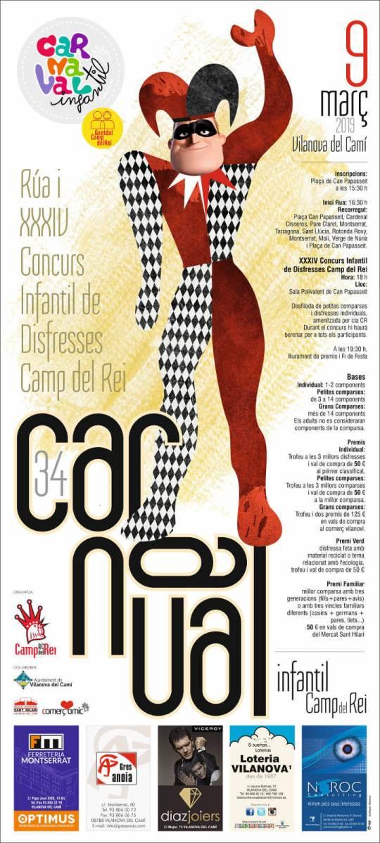 Carnaval_infantil_2019_Cartel-Baja