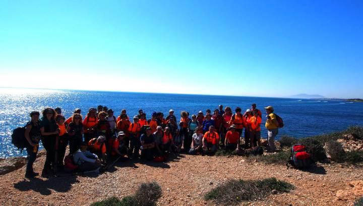Colla de l'Ametlla a l'Ampolla març 2019 Foto Jaume Sayos