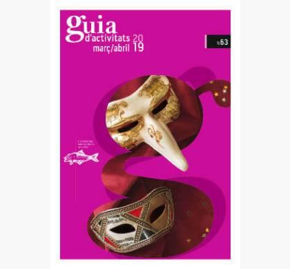 GUIA d'ACTIVITATS n.63 Març i abril de 2019