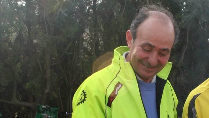 Pere Martí amb penya ciclista de vilanova del cami