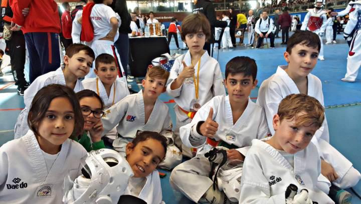 Furio Jol als Campionats infantils de Taekwondo març 2019