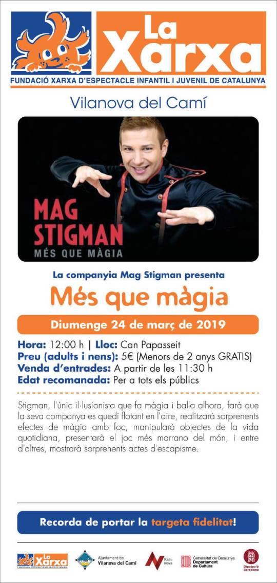 cartell Xarxa Companyia Stigman mar19