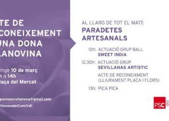 dia de la dona PSC Vilanova-fons