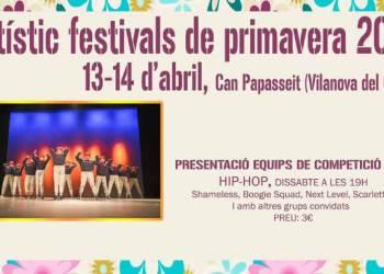 cartell artistic festival primavera 2019-imatge
