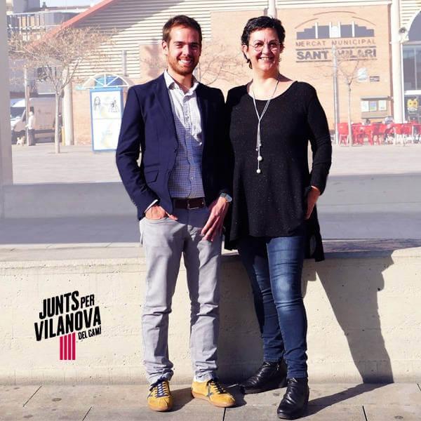 Jordi Barón i Esperança Grado de Juts x Vilanova del Camí