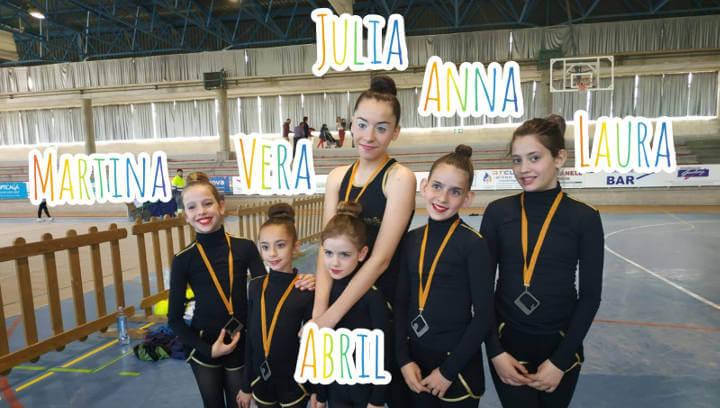 gimnastica Ballerina jocs escolars 2019