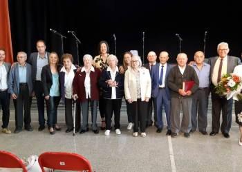 Setmana de la Gent Gran 2019 Foto de l'homenatge