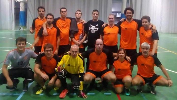 Salut Mental Anoia equip futbol sala abril 2019